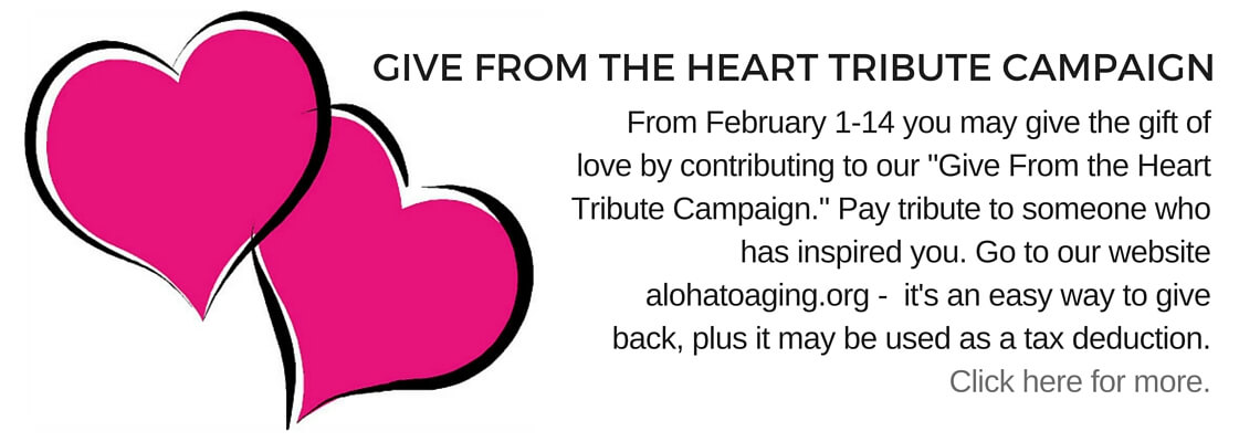 GIVE FROM THE HEART TRIBUTE CAMPAIGN